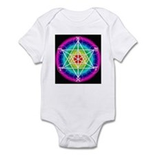 Star TetraHedron With Angelic Infant Bodysuit