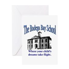 Bodega Bay School Greeting Card