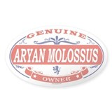 ARYAN MOLOSSUS Oval Decal