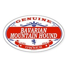 BAVARIAN MOUNTAIN HOUND Oval Decal