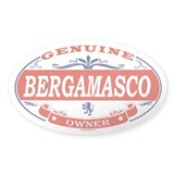 BERGAMASCO Oval Decal