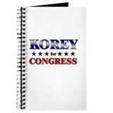 KOREY for congress Journal