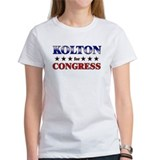 KOLTON for congress Tee