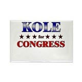 KOLE for congress Rectangle Magnet (10 pack)