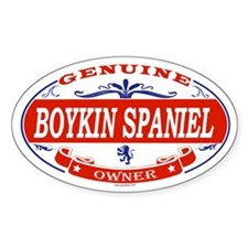 BOYKIN SPANIEL Oval Decal