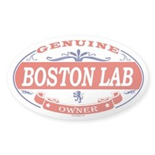BOSTON LAB Oval Decal