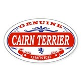 CAIRN TERRIER Oval Bumper Stickers