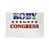 KOBY for congress Rectangle Magnet