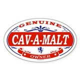 CAV-A-MALT Oval Decal