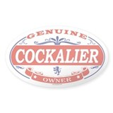 COCKALIER Oval Decal
