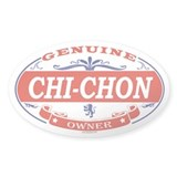 CHI-CHON Oval Decal