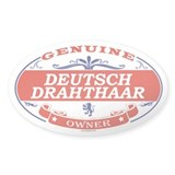 DEUTSCH DRAHTHAAR Oval Decal