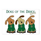 Dogs Of The Dance Postcards (Package of 8)