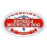 ESTRELA MOUNTAIN DOG Oval Decal