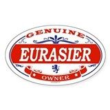EURASIER Oval Bumper Stickers