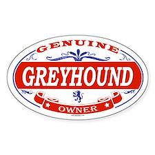 GREYHOUND Oval Decal