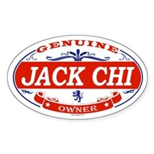 JACK CHI Oval Decal