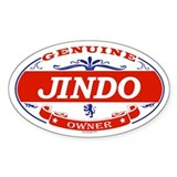 JINDO Oval Decal