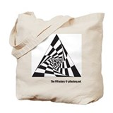 Infinite vortex Tote Bag