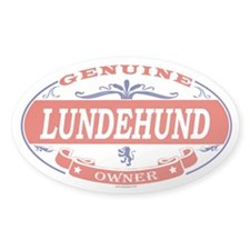 LUNDEHUND Oval Decal