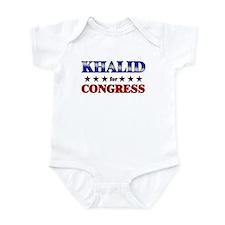 KHALID for congress Infant Bodysuit