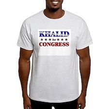 KHALID for congress T-Shirt