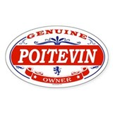 POITEVIN Oval Decal