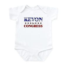 KEVON for congress Onesie