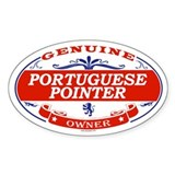 PORTUGUESE POINTER Oval Decal