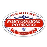 PORTUGUESE PODENGO Oval Decal