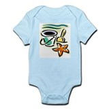 Beach Bucket Onesie