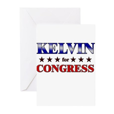 KELVIN for congress Greeting Cards (Pk of 20)