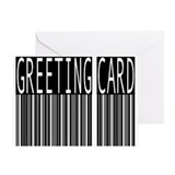 barcode Greeting Card