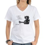 2764 Women's V-Neck T-Shirt