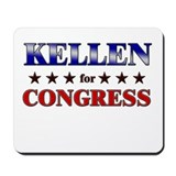 KELLEN for congress Mousepad
