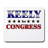 KEELY for congress Mousepad