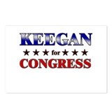 KEEGAN for congress Postcards (Package of 8)