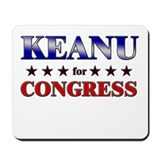 KEANU for congress Mousepad