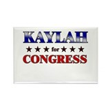 KAYLAH for congress Rectangle Magnet (10 pack)