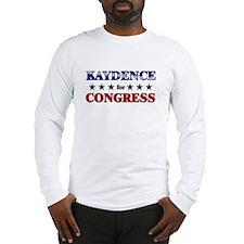 KAYDENCE for congress Long Sleeve T-Shirt