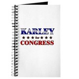KARLEY for congress Journal