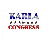KARLA for congress Postcards (Package of 8)