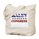 KALEY for congress Tote Bag