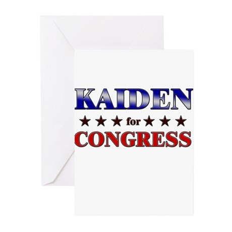 KAIDEN for congress Greeting Cards (Pk of 20)