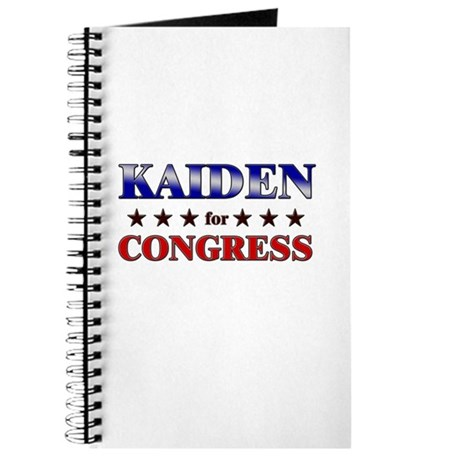 KAIDEN for congress Journal
