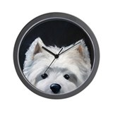 WESTIE DOG Wall Clock