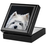 WESTIE DOG Keepsake Box