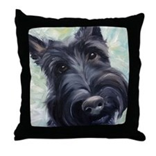 Scottie DOG Throw Pillow
