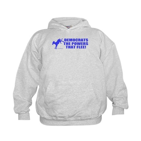 The Powers That Flee Kids Hoodie