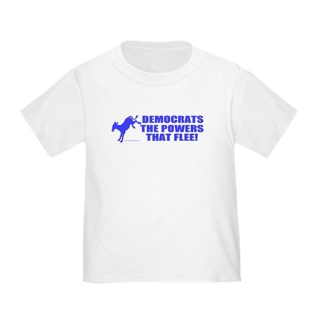 The Powers That Flee Toddler T-Shirt